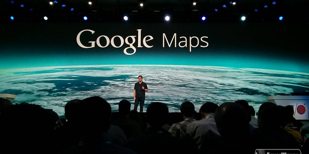 Google presenta sus nuevos mapas #IO13