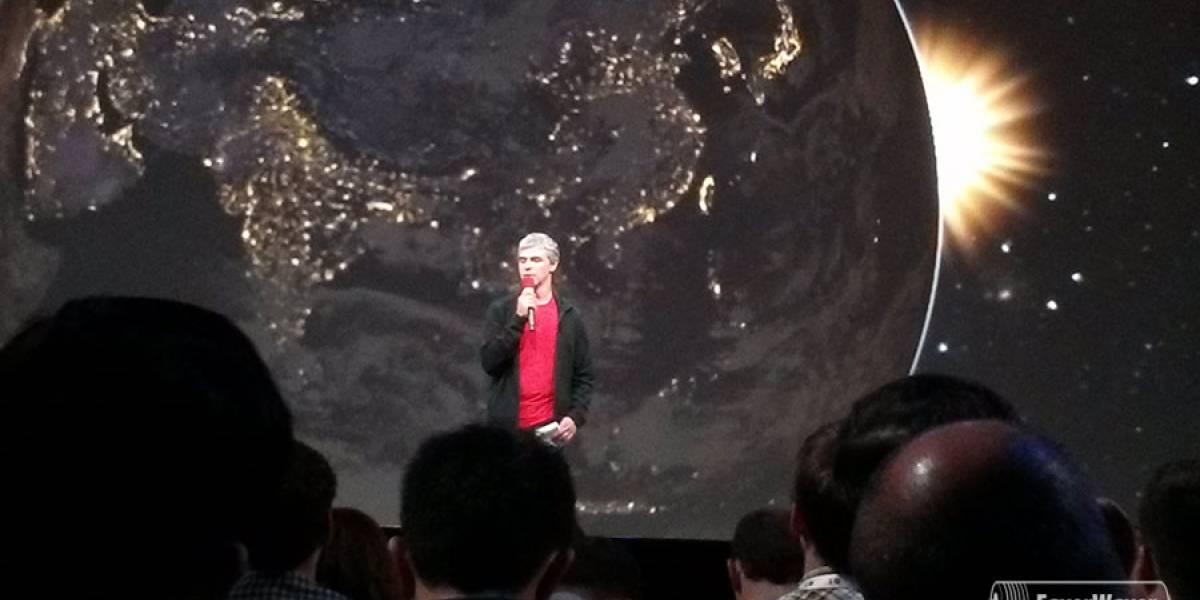 """Larry Page: """"Estamos sólo en el 1% de lo que podemos hacer""""  #IO13"""