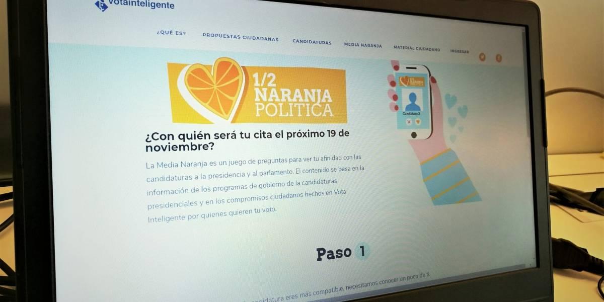 Media Naranja Política: la herramienta de Ciudadano Inteligente que buscar apoyar el voto informado