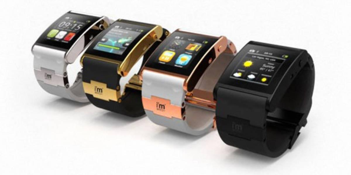 i'm Watch: Un smartwatch que parece un smartphone