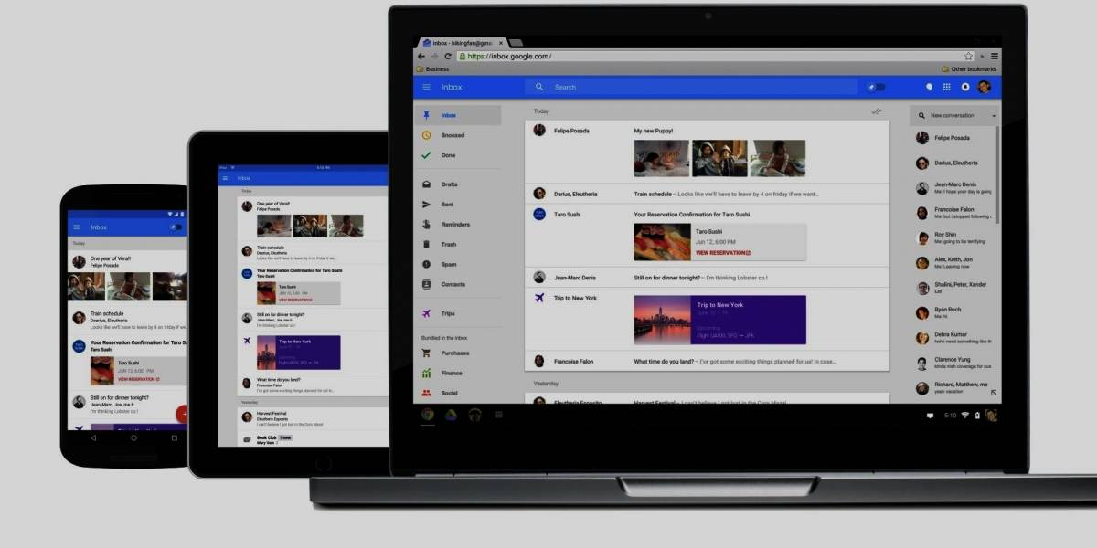 Google Inbox ya está disponible para todos #io15