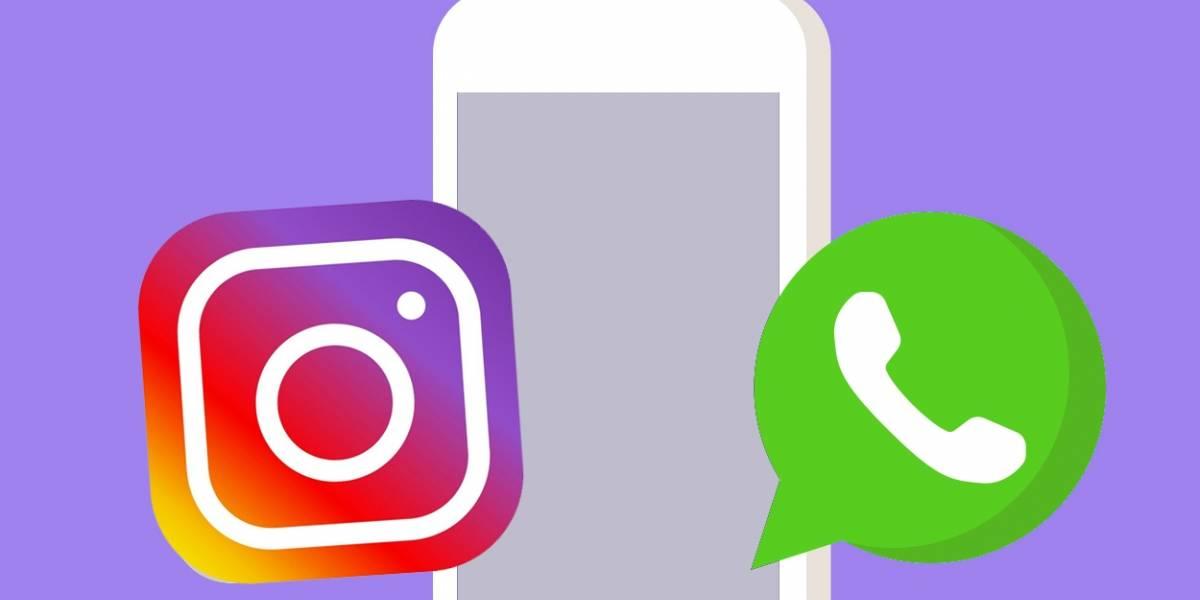 Instagram prueba publicaciones cruzadas con WhatsApp