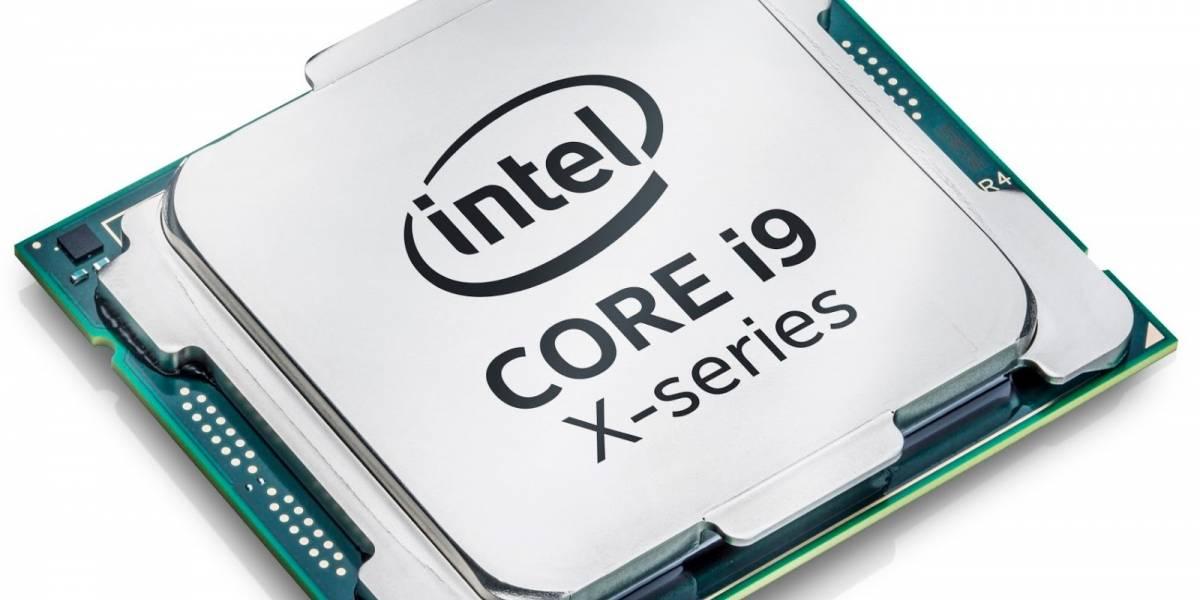 Los procesadores Intel Core X de 14, 16 y 18 núcleos ya están disponibles