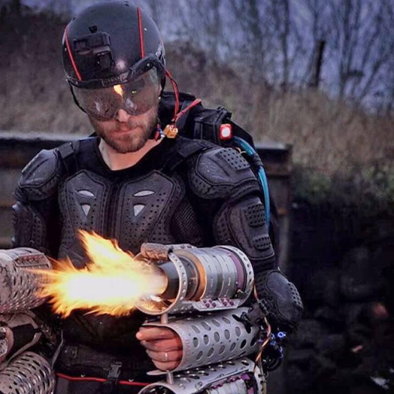 Crean traje real de Iron Man que puede volar