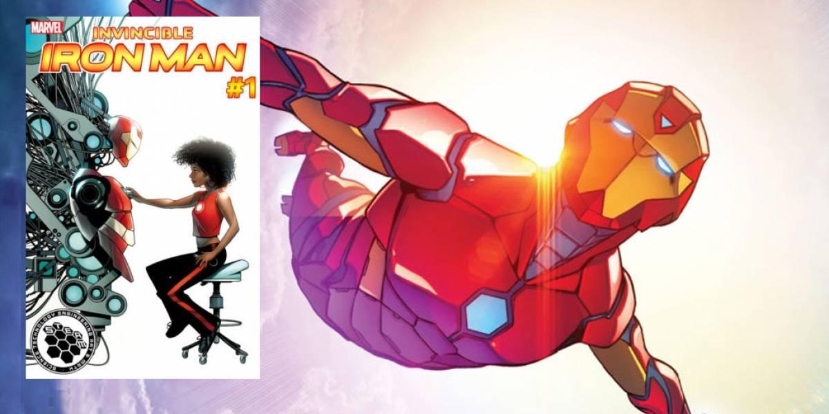 Marvel confirma que cambiará el nombre a su nueva Iron Man