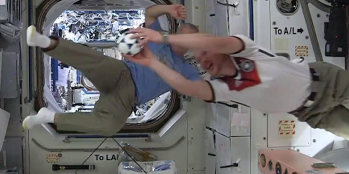 Así viven la Copa del Mundo en la Estación Espacial Internacional
