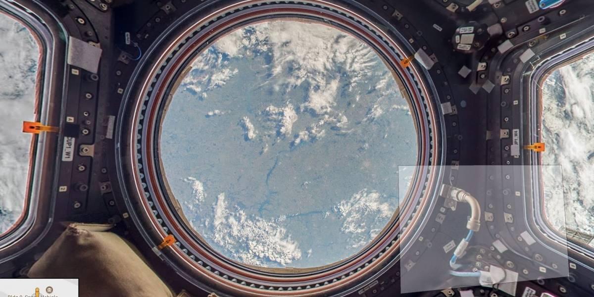 La Estación Espacial Internacional, ahora también en Google Street View