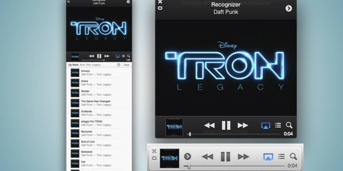 Apple lanza actualización para el reproductor iTunes 11.0.3