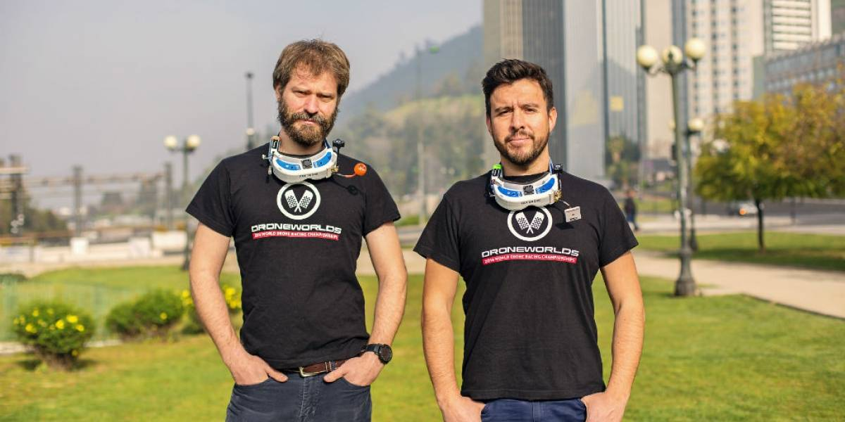 Pilotos chilenos de drones librarán dura batalla para clasificar al Mundial de carrera
