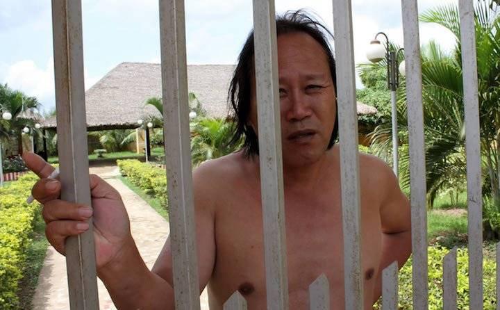 Jian Fang Xiao, conocido en Beni como Jabín, estuvo preso durante un año en una celda de Rurrenabaque acusado de tráfico de colmillo de jaguar
