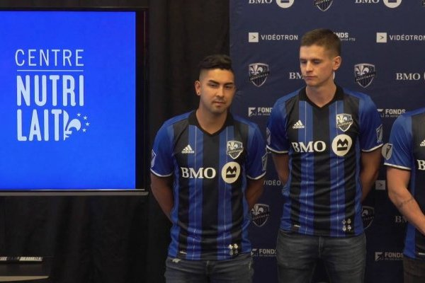 Jeisson Vargas con la camiseta del Montreal Impact / Foto: Captura