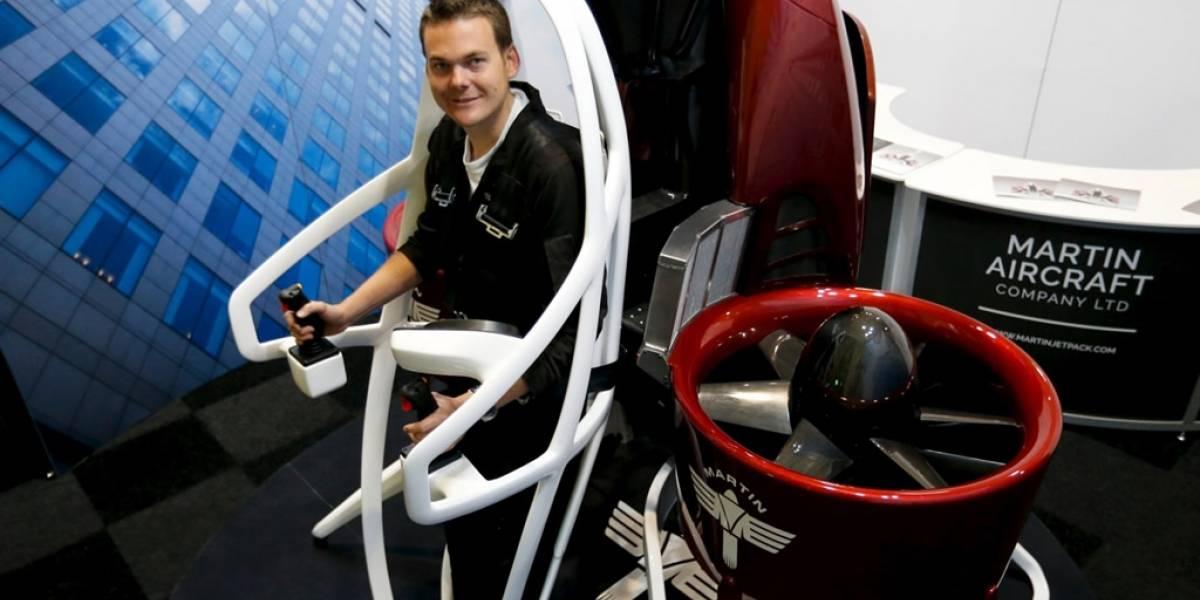Esta es la primera mochila propulsora que se venderá en el mercado