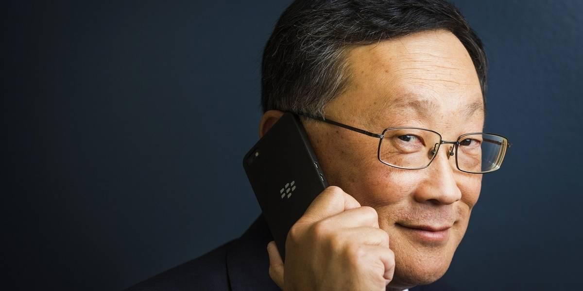 Jefe de BlackBerry dice que la empresa ha superado la crisis