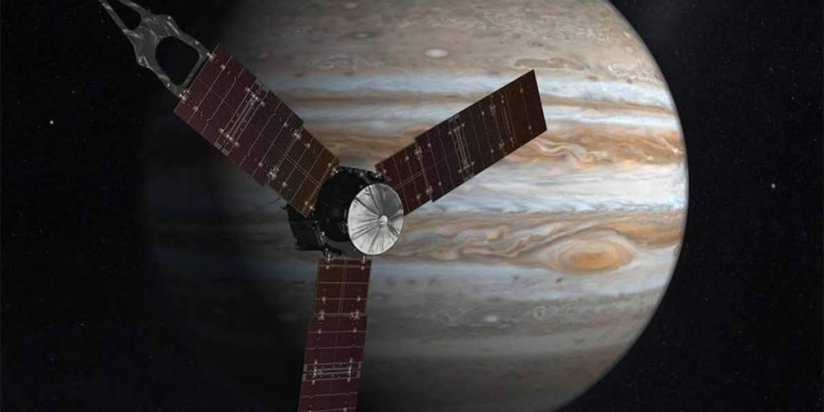 Así fue la llegada de la sonda Juno a la órbita de Júpiter