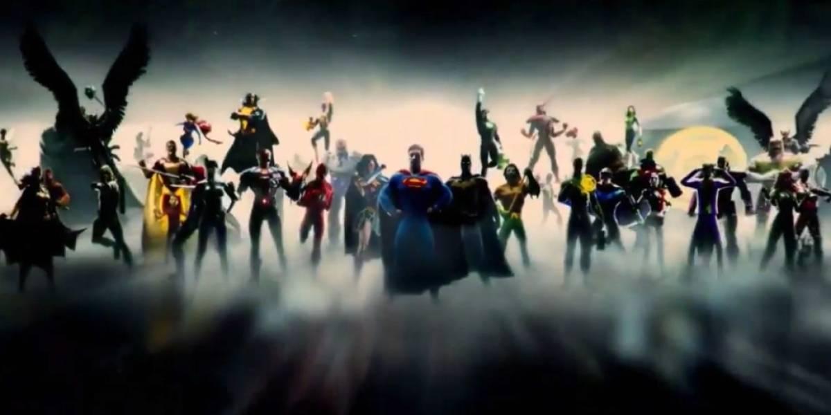 Se filtra el nuevo intro de DC Comics para el DCEU