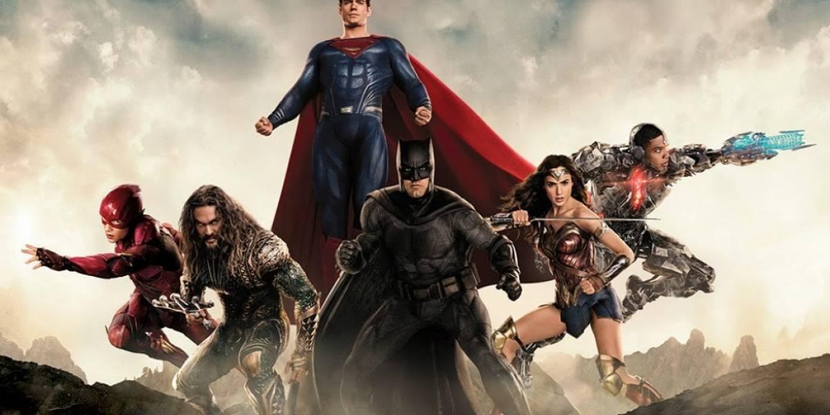 Justice League tiene el trailer más visto de 2017