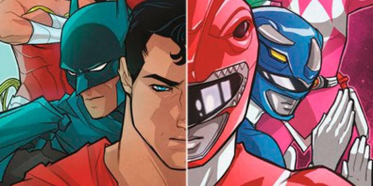 Los Power Rangers y la Liga de la Justicia unirán fuerzas el próximo año