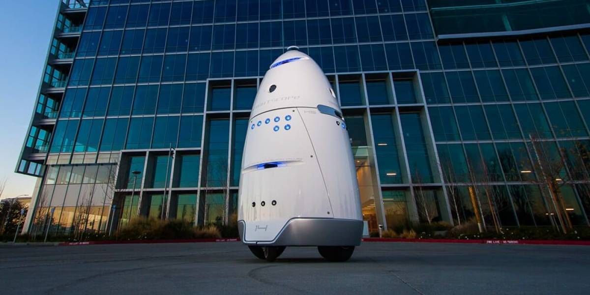 Bienvenidos al futuro: Robot de seguridad se suicida