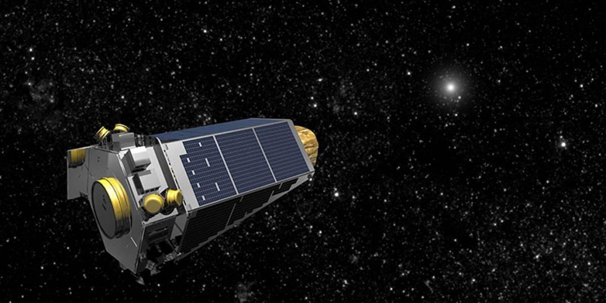 Telescopio espacial Kepler activa su modo de emergencia
