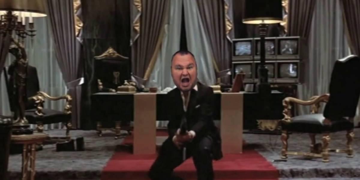 Nuevo vídeo muestra la redada en la mansión de Kim Dotcom