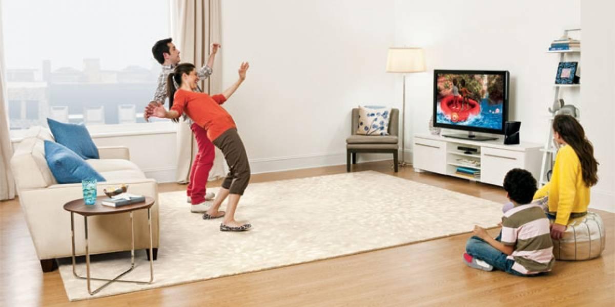 Futurología: Microsoft podría integrar Kinect en los televisores