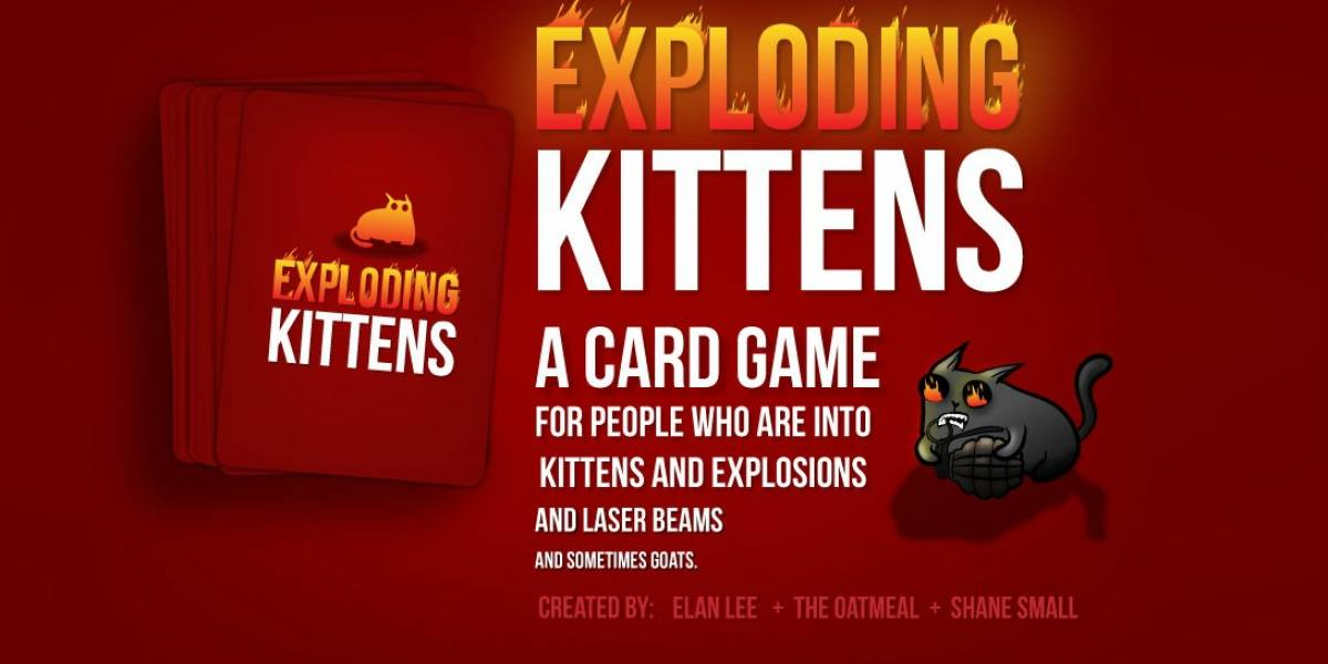 Exploding Kittens ahora es el proyecto en que más gente ha colaborado en Kickstarter