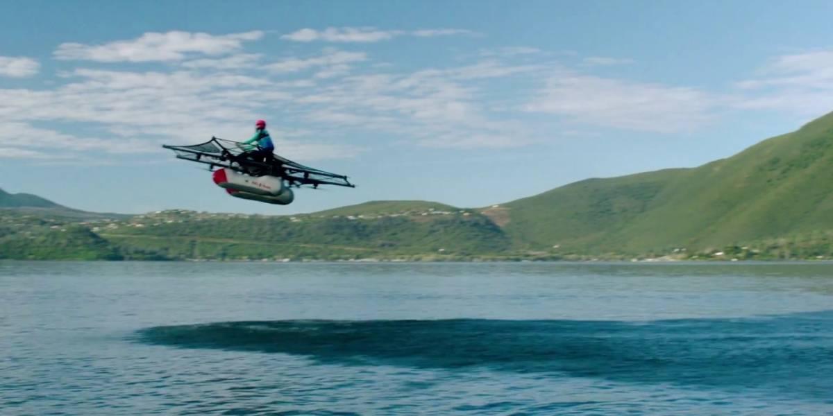 Este es el vehículo volador de Larry Page
