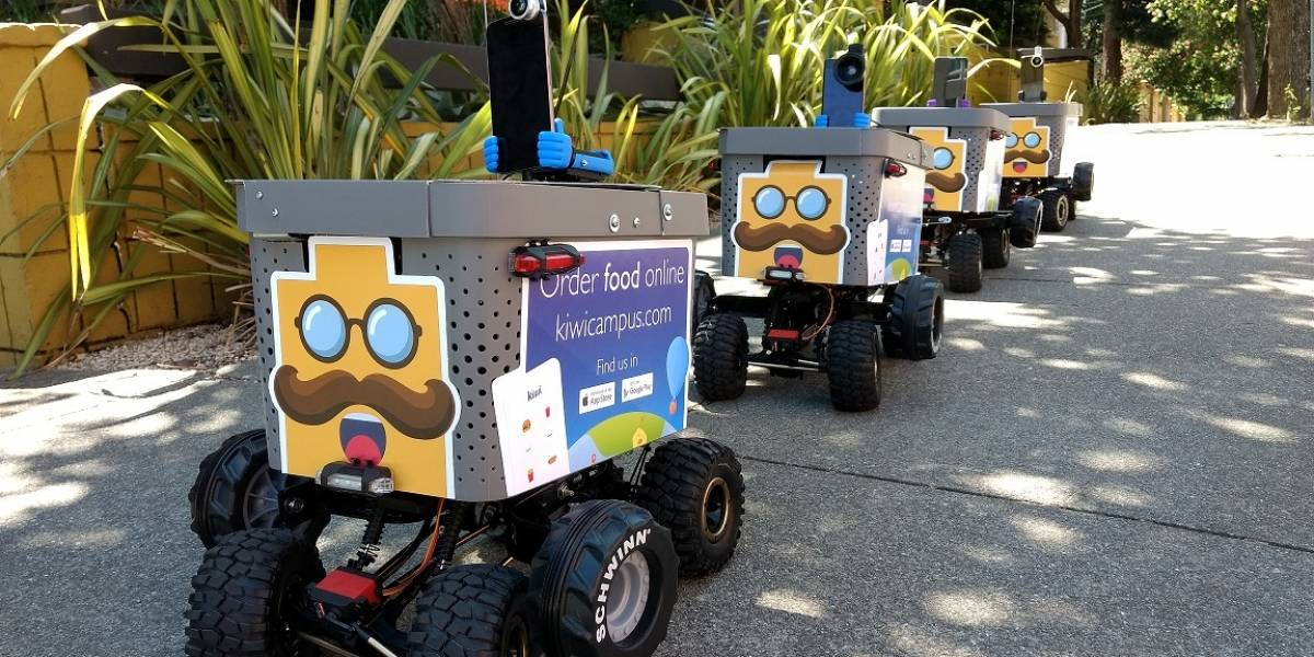 Empresa colombiana entrega pedidos con robots en Estados Unidos