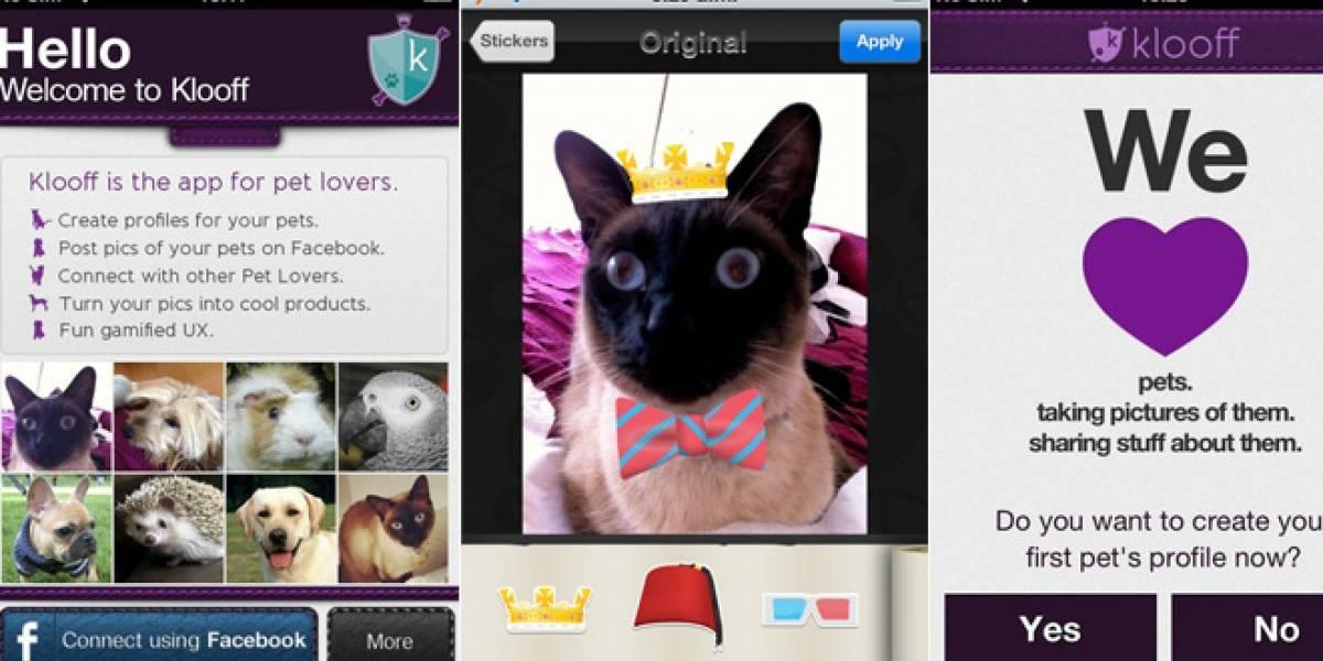 Klooff, reuniendo a los amantes de las mascotas con una app móvil [FW Startups]