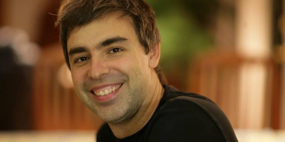 Larry Page explica por qué pierde la voz