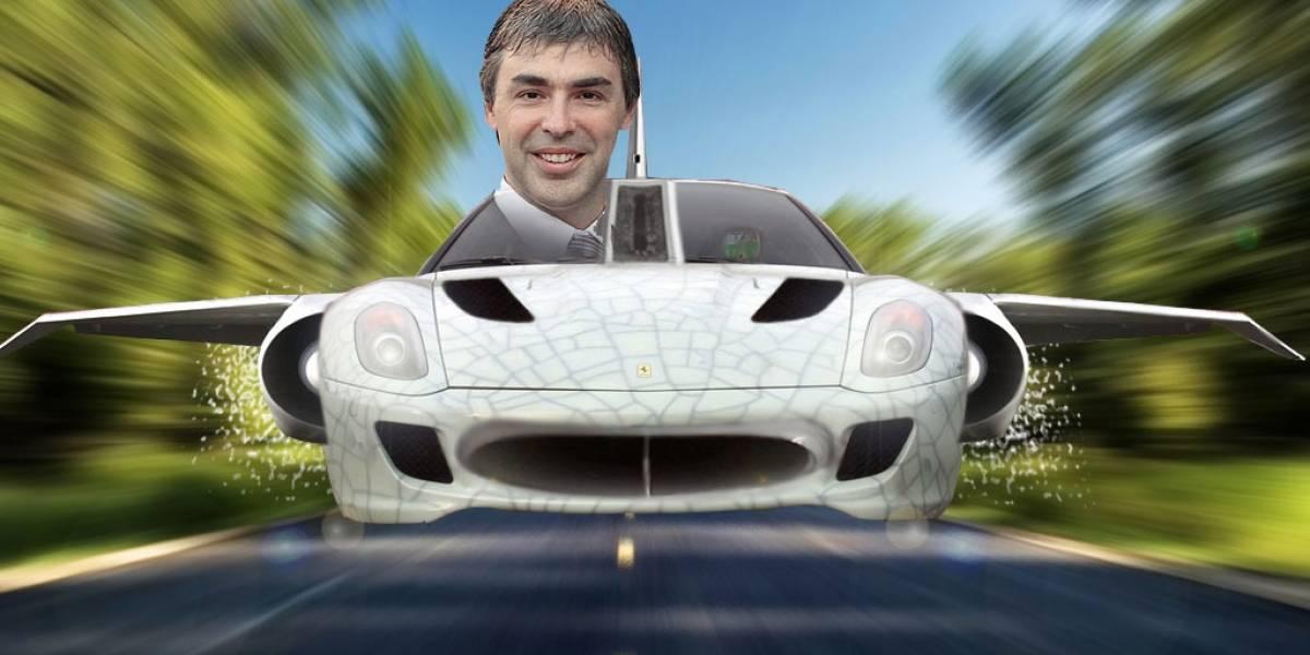 Larry Page habría invertido millones para crear un coche volador