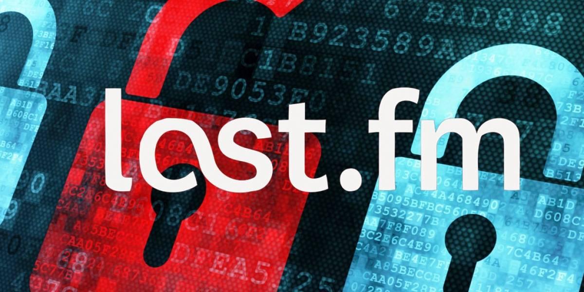 43 millones de cuentas habrían sido hackeadas de Last.fm