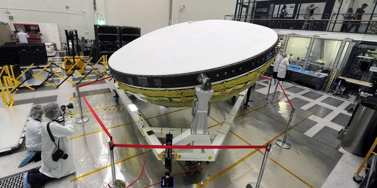 NASA finalmente lanza desacelerador supersónico con forma de platillo volador