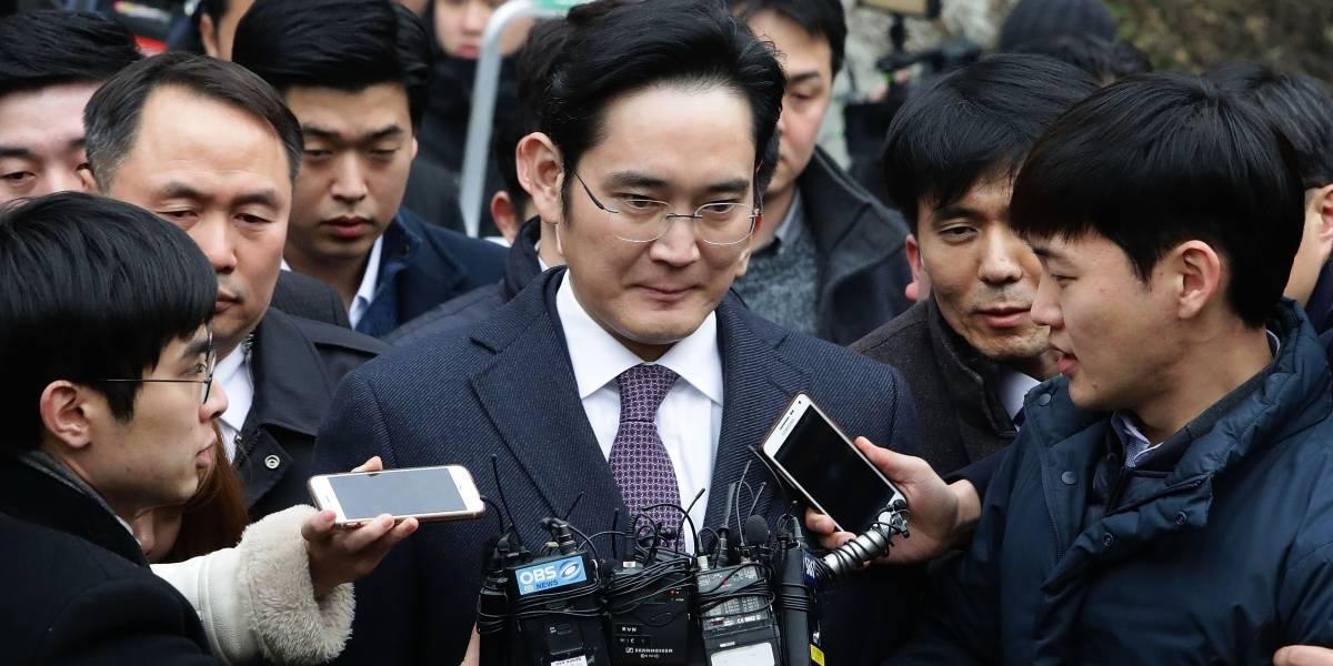 Ordenan detención del vicepresidente de Samsung