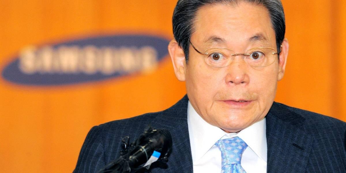 Acusan de soborno a presidente de Samsung en Corea del Sur