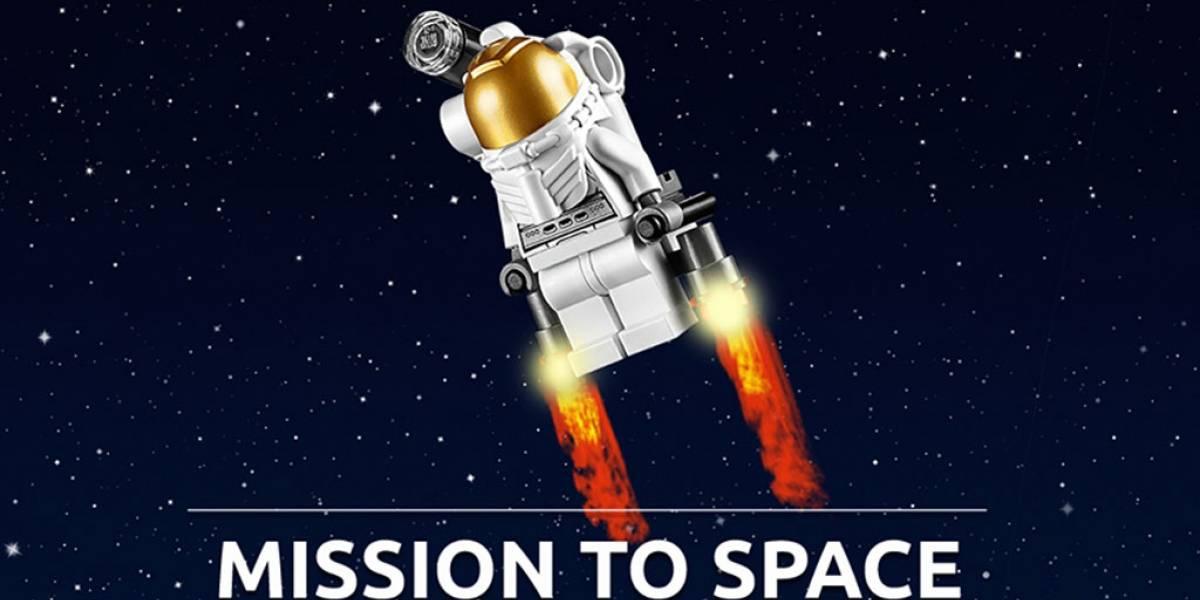 LEGO hace equipo con la NASA para el programa Mission to Space