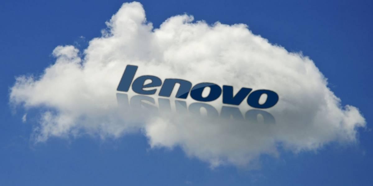 Lenovo abrirá muy pronto su servicio de almacenamiento de datos en la nube