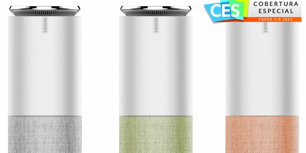 Lenovo Smart Assistant hace equipo con Amazon contra Google Home #CES2017