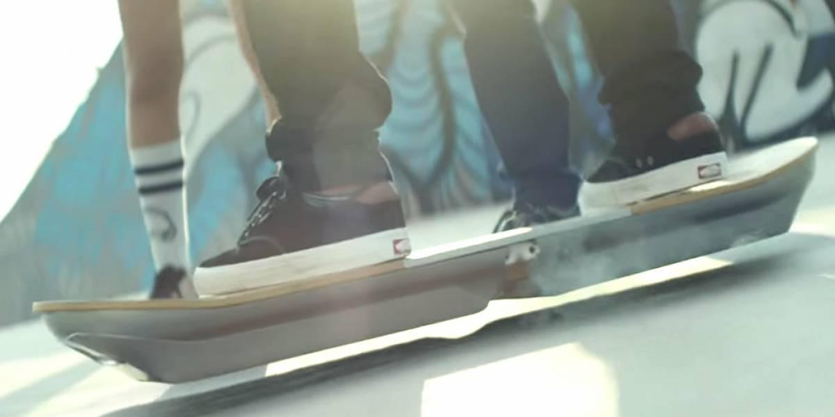Esta es la hoverboard de Lexus