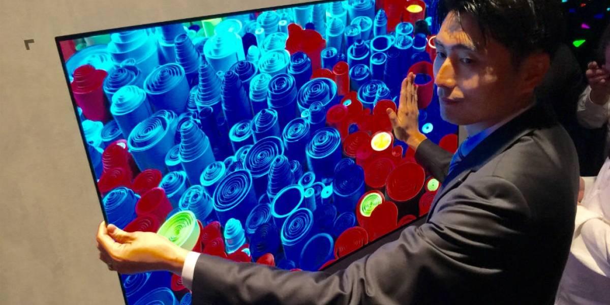 Las TV OLED Wallpaper de LG podrían llegar el próximo año