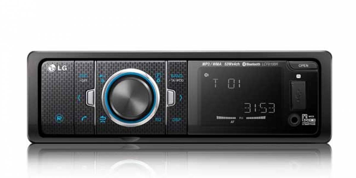 LG trae a España sus radios para coche con conectividad móvil