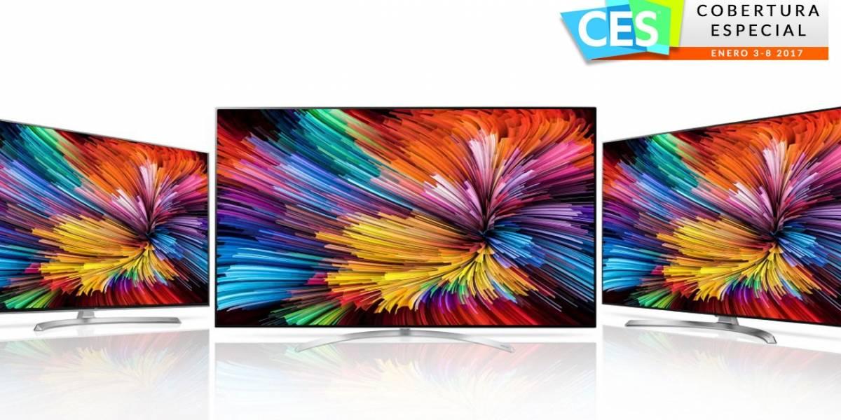 """LG muestra alineación de Televisores Super UHD con """"Nano Celdas"""" #CES2017"""