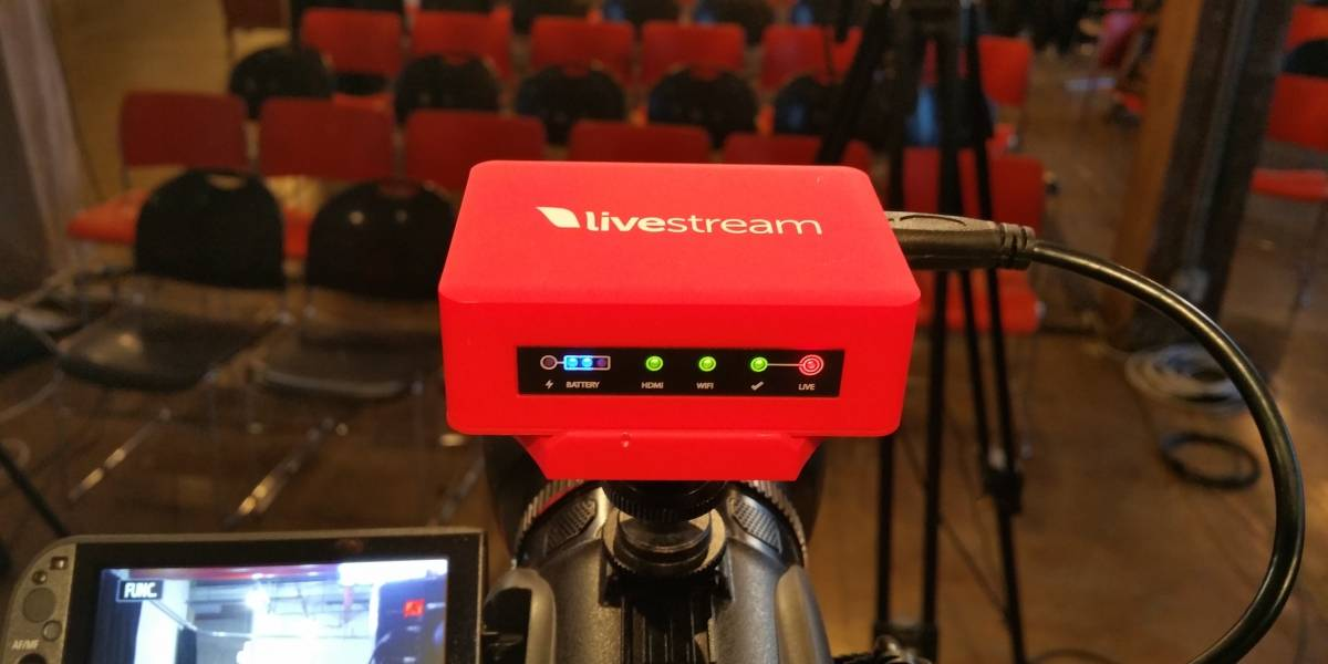 Livestream soportará transmisiones para Twitch, YouTube y Periscope de manera simultánea