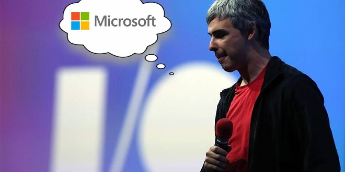 Larry Page y la polémica que despertó contra Microsoft en Google I/O 2013 #IO13