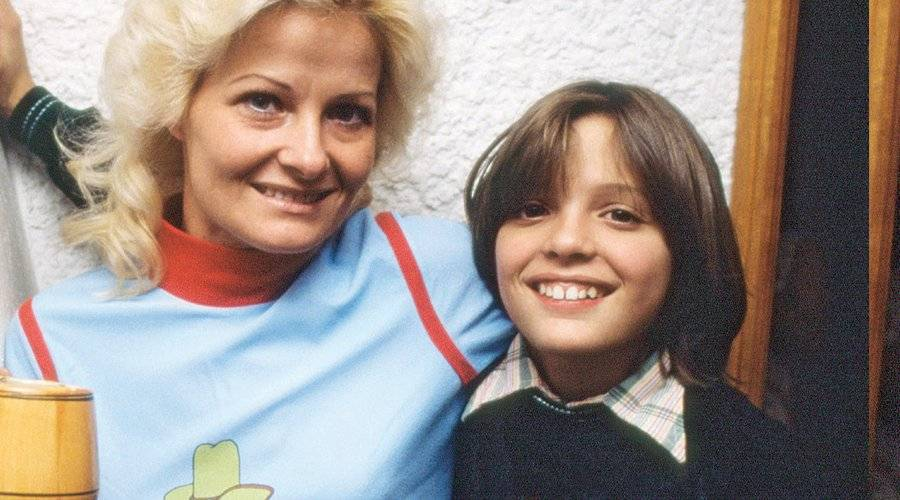 Luismi y su mamá