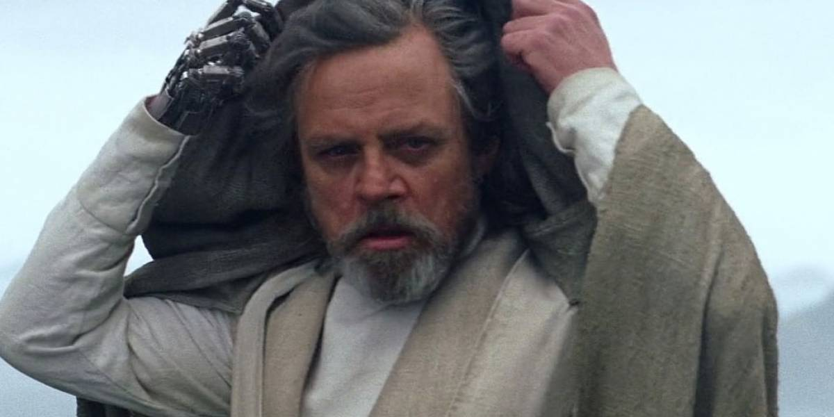 Estas son las primeras palabras de Luke Skywalker en The Last Jedi