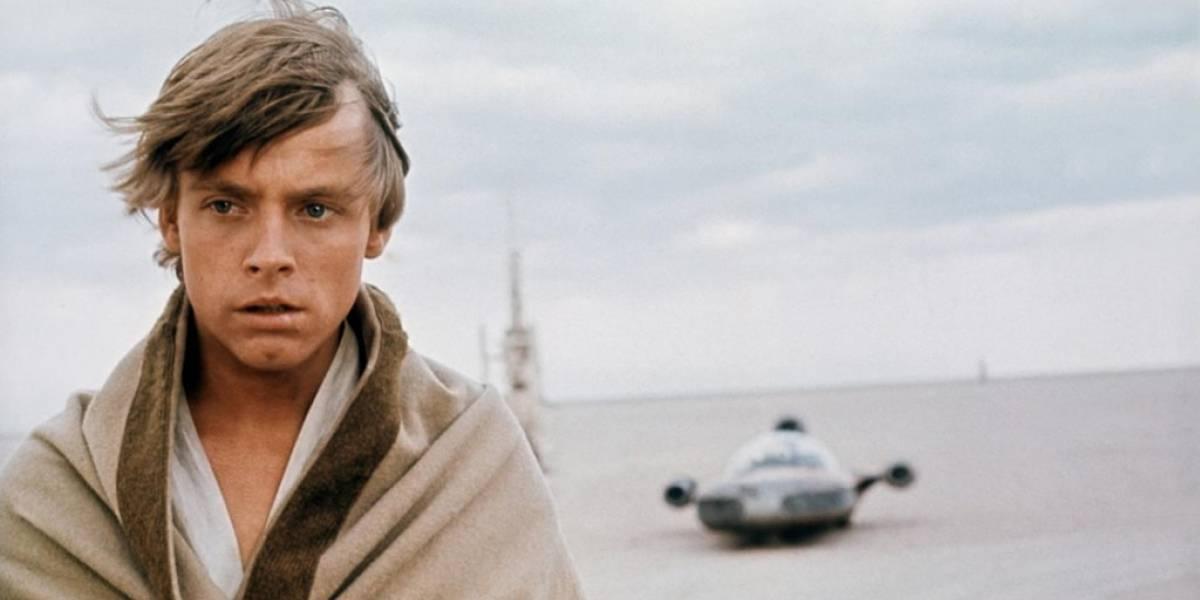 Mark Hamill comparte la primera imagen de Luke Skywalker