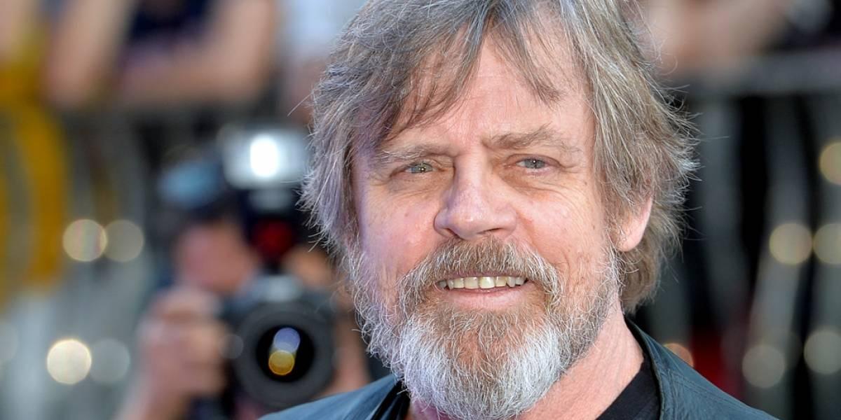 Esta es la primera imagen de Mark Hamill como Luke Skywalker en El Despertar de la Fuerza