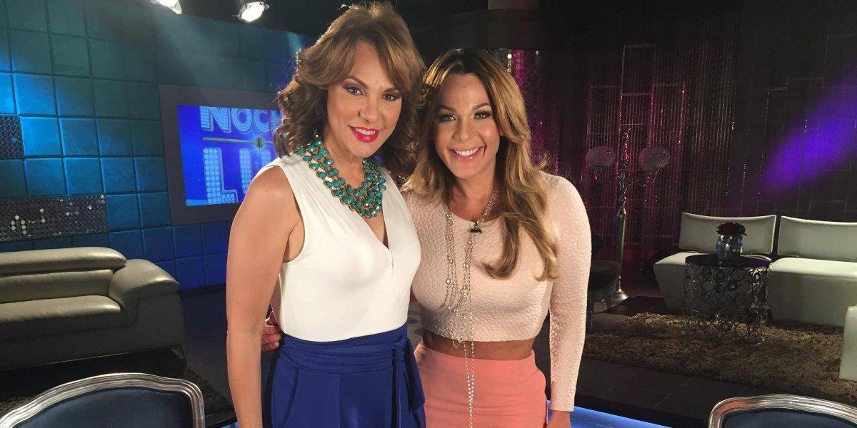 Milagros Germán y Luz García, presentadoras Premios Soberano