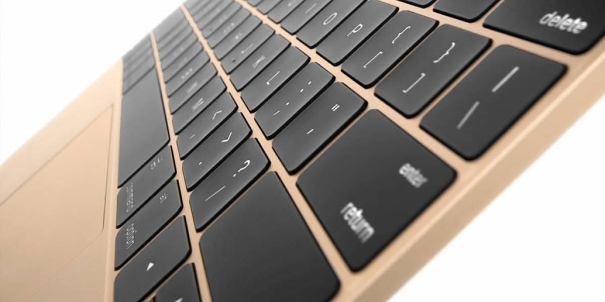 Apple eliminaría el teclado QWERTY para las MacBook de 2018